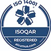 ISOQAR Registered Company - ISO 14001