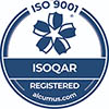 ISOQAR Registered Company - ISO 9001